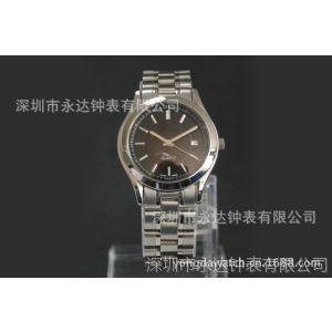 情侣表 供应批发优质不锈钢石英手表 机械手表 石英手表