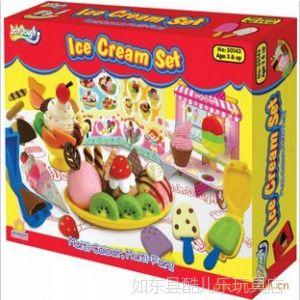 供应多多乐冰淇淋/冰激凌彩泥批发 橡皮泥 儿童玩具