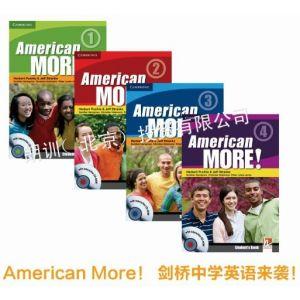 供應劍橋初中英語教材American more 代替新概念