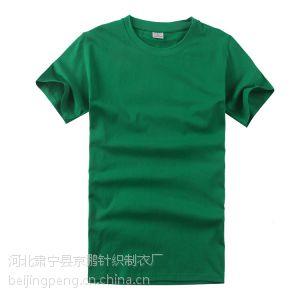 供应厂家供应200克精梳棉圆领短袖广告衫文化衫T恤衫企业文化宣传服促销服活动服来图样定制