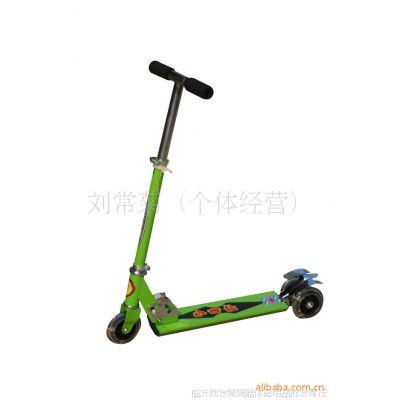 供应小奇仕半铝三轮滑板车  健身车  迷你车