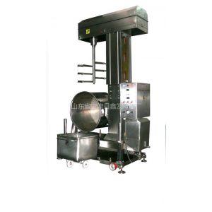 供应鱼糜打浆机,大型自卸式肉糜加工设备,在厦门德立食品机械
