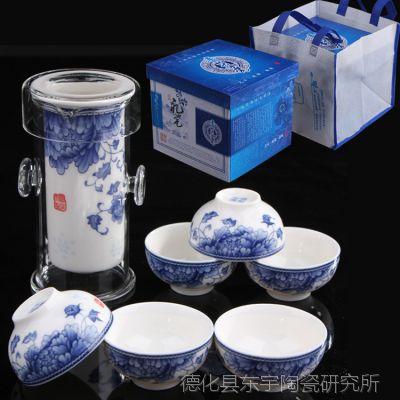 新款玲珑 红茶茶具泡茶器 玻璃茶具 汝窑 陶瓷 功夫茶具套装批发