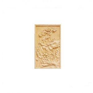 供应广州砂岩浮雕荷花图