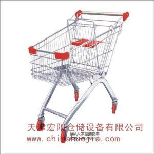 供应超市手推车超市购物车购物篮天津货架厂