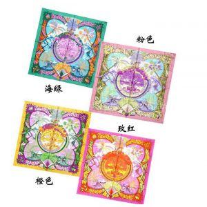 供应2012新品大方巾 数码印花真丝丝巾批发 欧美风真丝围巾