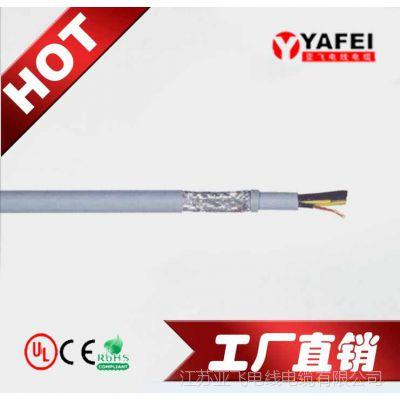 屏蔽彩色芯线柔性控制电缆一般是80芯几平方|江苏亚飞电线电缆