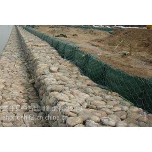供应河道整治高尔凡石笼网 防洪石笼网箱 包塑PVC PE石笼网