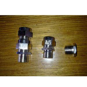 供应乐清防爆控制箱配套用防爆电缆接头 IP67  EXDIICT6