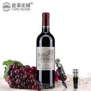法国原酒 拉风庄园 古堡干红葡萄酒