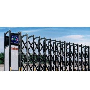 供应东莞长安电动大门、工厂伸缩门、电动拉闸整套门安装