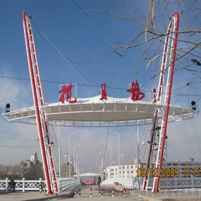 供应陕西铜川膜结构施工安装