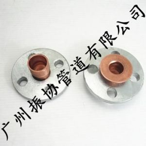 供应铜管PN16紫铜管铜衬法兰 2506-59 热镀锌钢法兰片