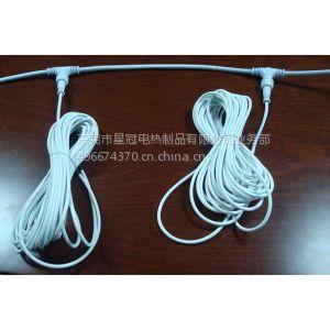供应供应电地暖硅胶发热线 电热线 加热线