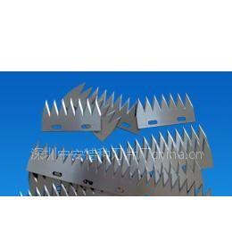 供应供应食品包装机齿刀 长型刀片 裁切刀片 齿刀片