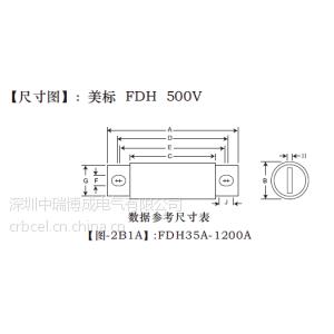 供应台湾友容 CFriend 友容PBoy电动汽车专用系列熔断器 EVHE-150A
