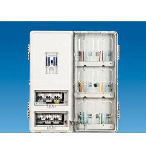 供应透明PC6位电表箱左右结构表箱