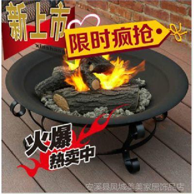 美美铁艺冬天取暖器烤火器烤火桌火炉架烤火炉烤火盆烧烤架
