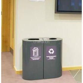 供应广州分类垃圾桶 室外分类果皮箱 烟灰筒