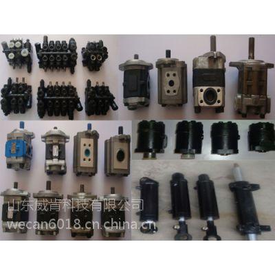 威肯滑移装载机零配件液压泵齿轮泵工程机械配件