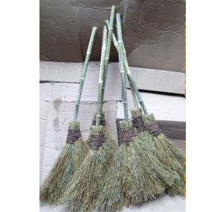 供应纯手工 新鲜竹枝 牢固竹簉 竹扫把 竹扫帚 可扫雪