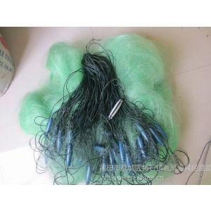 供应绿色丝线三层鱼网12公分*30米*170米长