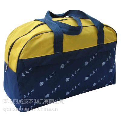 供应青岛手提旅行包厂家 促销旅行包定购 行李袋生产工厂