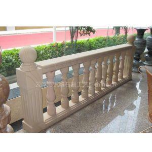 供应酒店、别墅室内装饰用砂岩楼梯栏杆