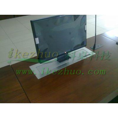 厂家直销液晶屏升降电脑桌 显示器升降电脑桌科桌