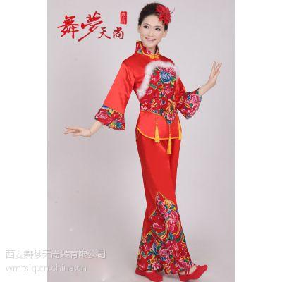 2015新款陕北腰鼓服秧歌服装