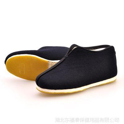 一件代销正宗老北京布鞋男冬款大棉千层底防滑加绒中老年棉靴子