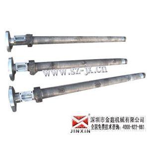 供应单螺杆挤出机螺杆,单螺杆挤出机炮筒口碑、性价比、—金鑫机械有限公司