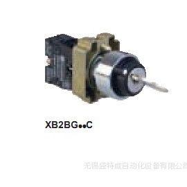 供应施耐德钥匙开关XB2BG33C  3档钥匙选择开关 3位转换中间出 2NO