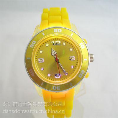 儿童发光表发?卡通手表 环保硅胶表带?手表厂家定制LED发光手表