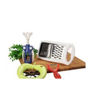 热销德铂厨具威斯特DEP-61:红酒开瓶器苹果分离器削皮器刨丝器,佳节员工福利