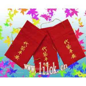 供应专业按客户要求生产礼品包装袋 绒布袋 饰品袋