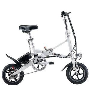 推荐12寸折叠电动自行车折叠车