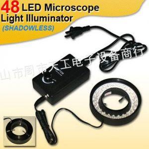 供应显微镜光源 LED节能灯 环形灯 带调光盒 分体式