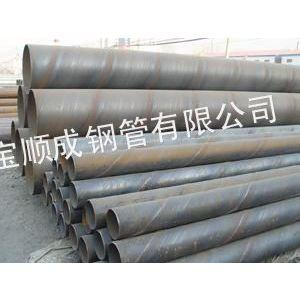 供应螺旋钢管是经常温挤压成型,带钢卷板为原材料,以自动双丝双面埋弧焊工艺焊接而成的螺旋缝钢管