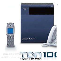 供应浦东低价销售安装Panasonic KX-TDA100D 电话交换机8外线24分机