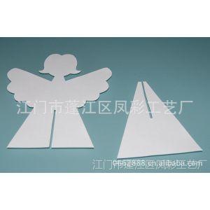 供应木制DIY天使工艺品 创意天使挂件 厂家生产