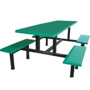 供应江门玻璃钢饭堂餐桌椅/珠海食堂餐桌椅批发价格