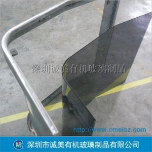 供应有机玻璃热弯L形机罩 仪器亚克力外壳 仪器设备视窗