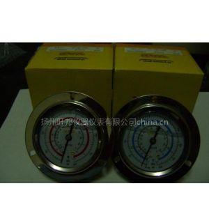 VAB环保型内外全不锈钢冷媒压力表耐酸碱耐腐蚀正常使用在恶劣环境