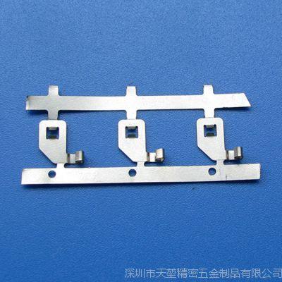 定制各种规格五金弹片接触AC弹片不锈钢编带五金弹片充电器