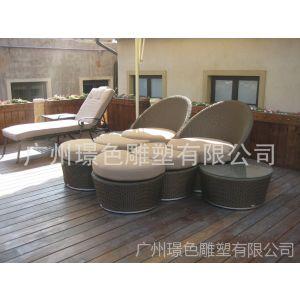 供应园林椅子 户外家具 休闲花园藤编椅子 太阳伞 沙滩椅 环保垃圾桶 户外椅子 沙滩休闲椅