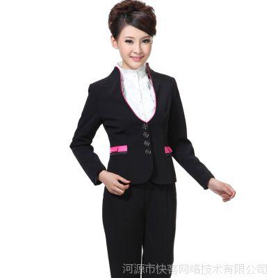 厂家批发 职业装女式春OL韩版新款女士职业套装时尚通勤女装