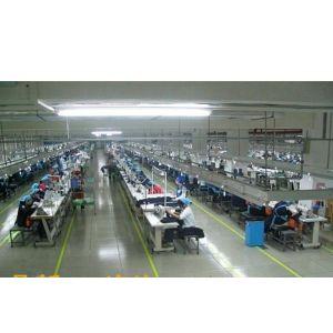 供应服装单件流水  服装JIT   服装精益生产