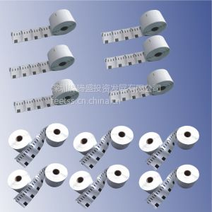 供应DYMO11354 DYMO11352 DYMO11355热敏标签 条码纸 标签纸 TZ标签色带
