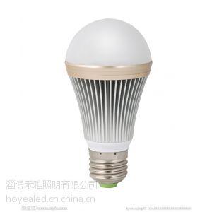 供应禾雅高品质3W 5W 7W LED球泡灯 贴片款